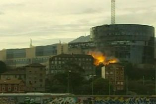 ЕТА влаштувала біля штаб-квартири баскської телекомпанії потужний вибух