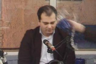 Грузинські політики побилися в прямому ефірі