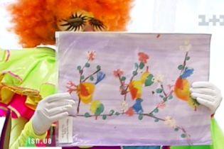У Києві за ескізами дитячих малюнків виготовляють килими