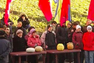 Обурені транспортики і соціалісти зібрали 2 тис людей під Кабміном (відео)