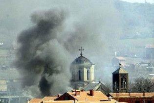 Зіткнення сербів з косовською поліцією: 55 постраждалих