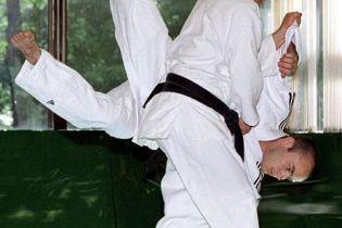 Путін навчає корейців дзюдо