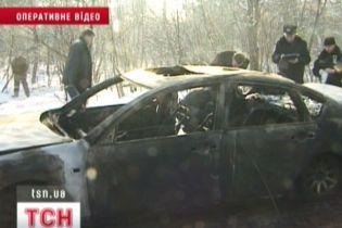 Міліція шукає суддю, чиє авто знайшли спаленим