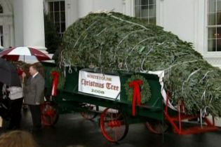 У Білому домі вже готуються до святкування Різдва (відео, оновлено)