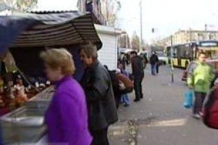 У Києві закривають кіоски (відео)