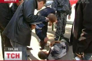 Хлопець вбив безпритульного через надокучливість (відео)