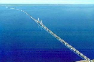 У Китаї буде найдовший у світі міст