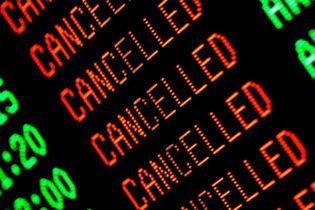 В світі сотнями скасовують рейси через снігопади