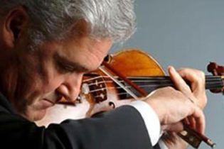 Пінхас Цукерман зіграв в Москві на скрипці Гварнері (відео)