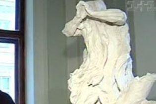 Скульптуру Пінзеля знайшли на Львівщині (відео)