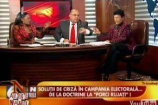 У Румунії під час дебатів політики обливалися водою