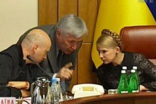 Тимошенко готова обговорити зміну чотирьох міністрів