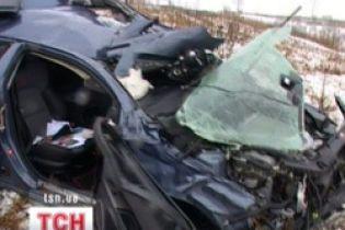 Аварія на Запоріжжі: 2 загиблих, 3 поранених