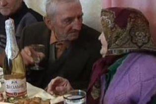 На Хмельниччині відзначили 75 років у шлюбі (відео)