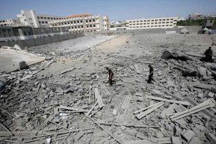 Підземний вибух у секторі Газа