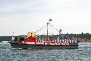 Український адмірал пропонує конфіскувати російські кораблі