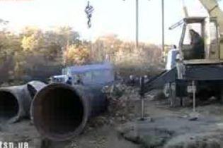 Луганщина залишилася без води (відео)