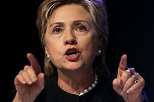 Комітет сенату США підтримав Клінтон на посаду держсекретаря
