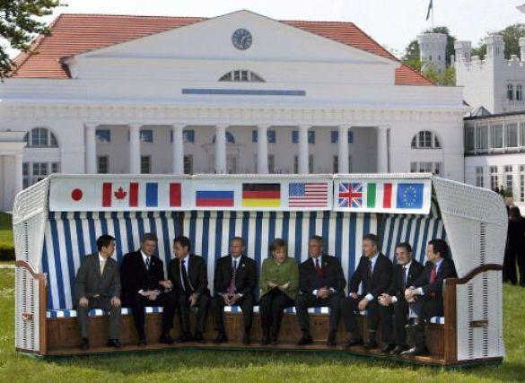 """Лідери держав """"групи восьми"""""""