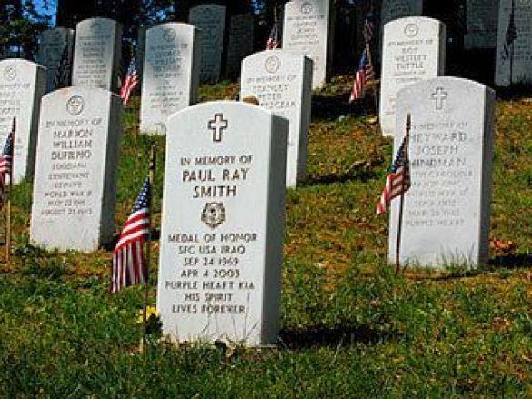 Могили військових США