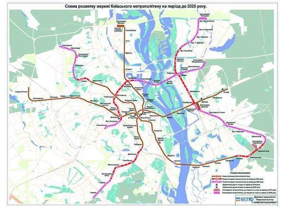 Проект київського метро