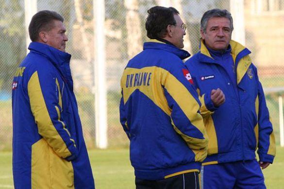 Тренери збірної України