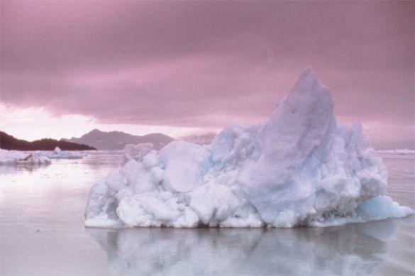 Британська художниця дала слово ісландському льодовику