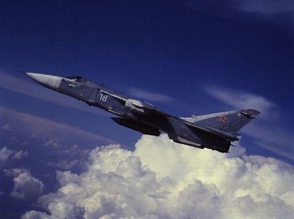 Аварія російського бомбардувальника