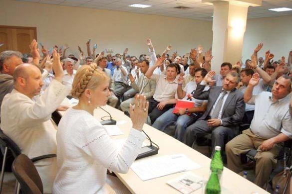 Блок Юлії Тимошенко (Фото: Персональний сайт Юлії Тимошенко)