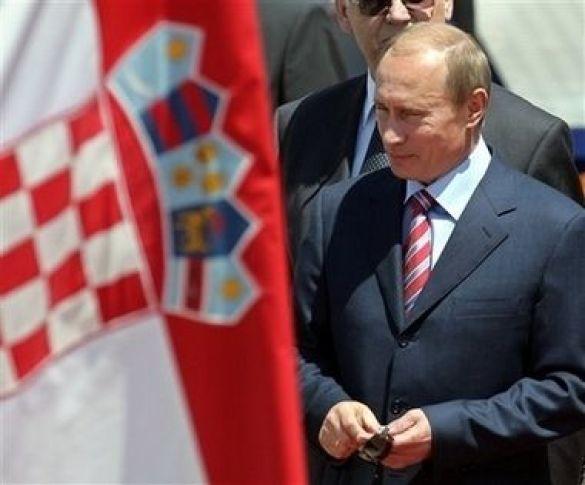 Володимир Путін у Хорватії