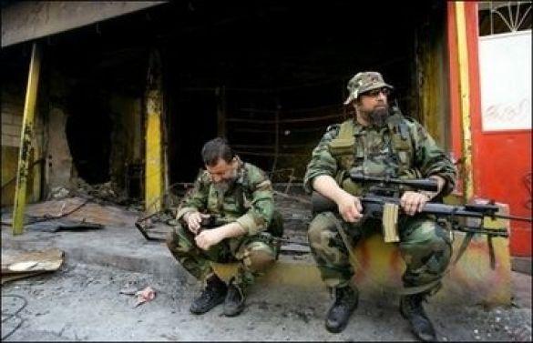 Вояки Організації визволення Палестини (Фото: AFP)