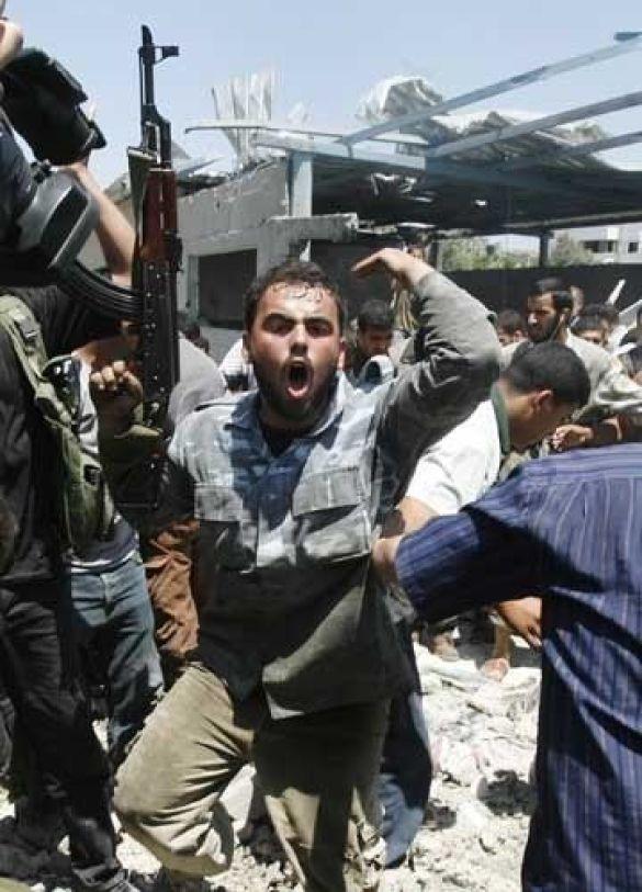 Підземний вибух у секторі Ґаза