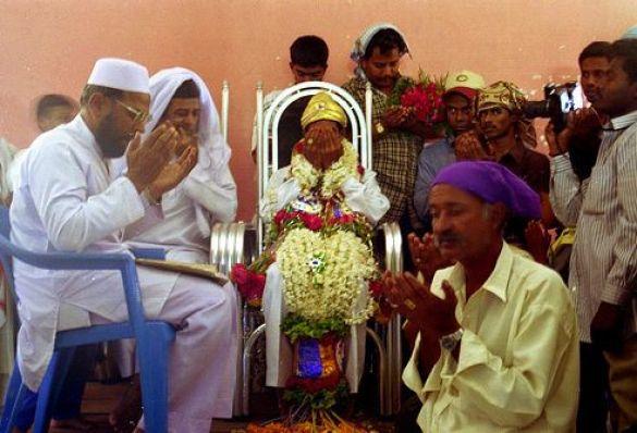 Мусульманське весілля, Індія (Фото: flickr.com)