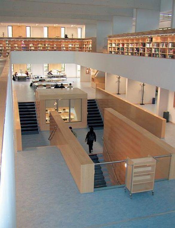 Бібліотека в Мадриді