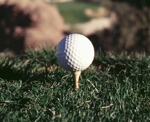 Сліпа гольфістка влучила в лунку