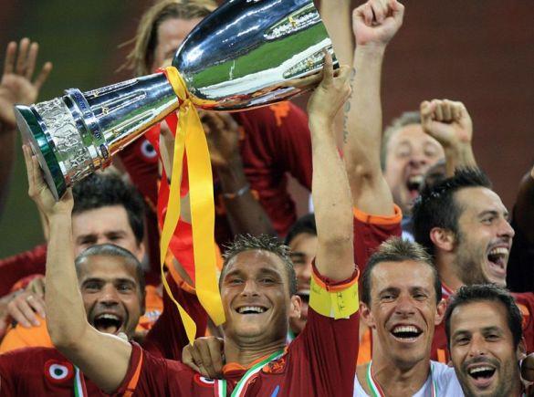 """""""Рома"""" виграла Суперкубок Італії"""