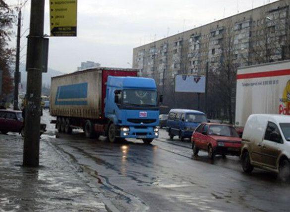 Страйк перевізників у Львові