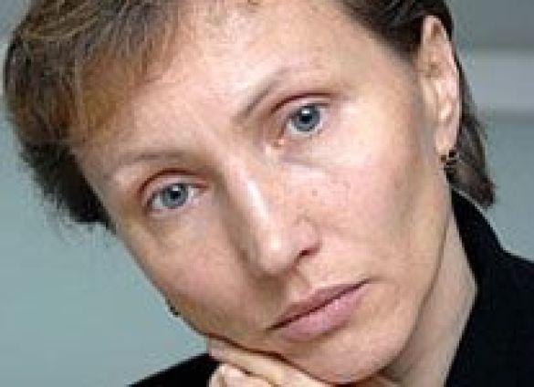 Марина Литвиненко, вдова. Фото: grani.ru