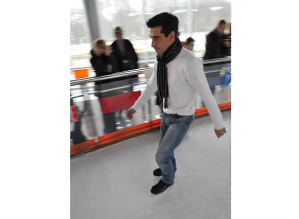 Як Катеринчуки на ковзанах катались, а Влад Яма намагався не впасти