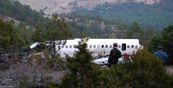 В Туреччині розбився літак