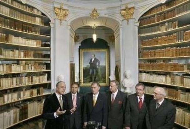 Знаменита німецька бібліотека знову відкрита