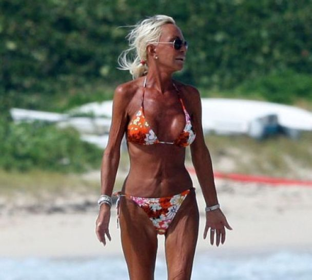 Донателла Версаче заморила себе дієтами