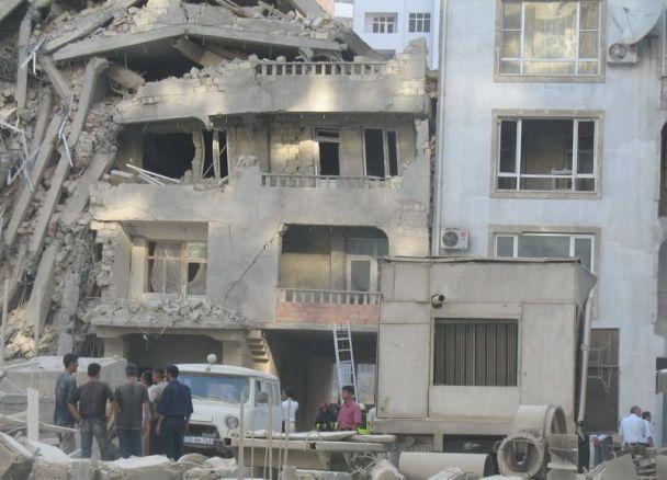 У Баку завалився будинок