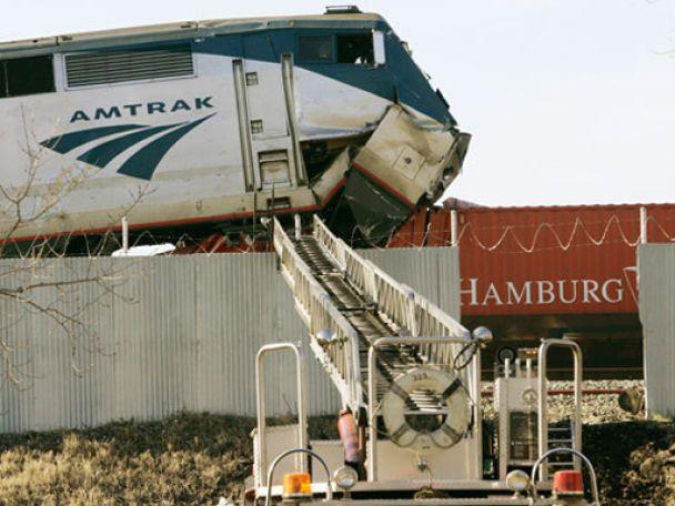 Два потяги зіткнулися в Чикаго