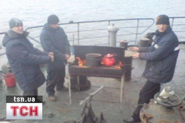 Українські моряки потрапили в полон у Одесі