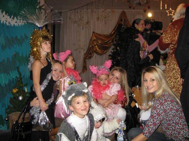 Оля Горбачова та Бондарчук бавились з дітьми