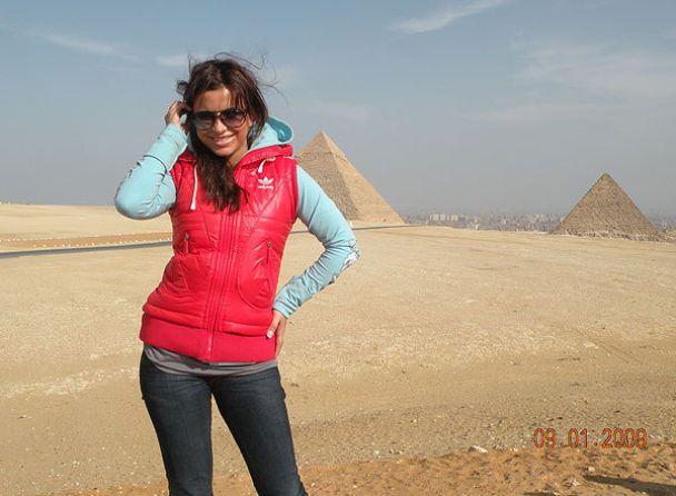 Ані Лорак з Сердючкою побували в Єгипті