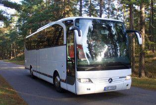 На Житомирщині перекинувся автобус з білорусами