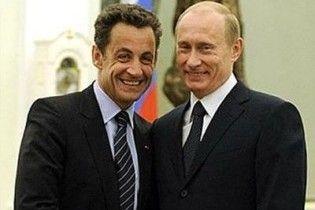 Путін заявив, що його нинішня скромна посада не заважає дружбі з Саркозі