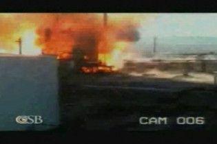 З'явилися відеокадри вибуху на нафтопереробному заводі в штаті Юта